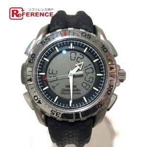 OMEGA オメガ 3290.50 プロフェッショナル メンズ腕時計 腕時計 シルバー×ブラック メンズ 【中古】 reference