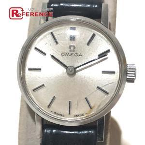 OMEGA オメガ レディース腕時計 腕時計 シルバー×ブラック レディース 【中古】 reference