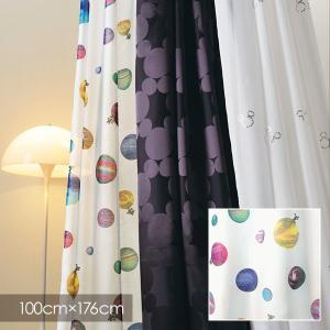 Disney シアーカーテン MICKEY ミッキー Cosmo / コスモ 100×176cm (メーカー直送品)|reform-myhome