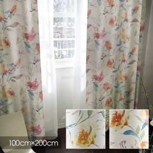 Disney カーテン ALICE アリス Rose garden / ローズガーデン 100×20...