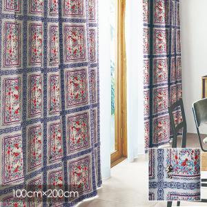 Disney カーテン MICKEY ミッキー Royal garden / ロイヤルガーデン 100×200cm (メーカー直送品) reform-myhome