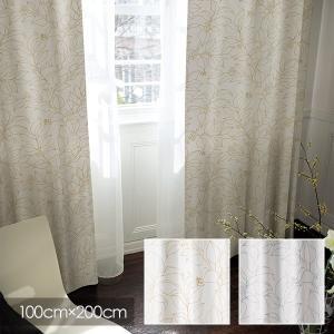 Disney カーテン MICKEY ミッキー Slip leaf / スリップリーフ 100×200cm (メーカー直送品)|reform-myhome