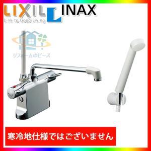 * [BF-B646TSD(300)-A100] あすつく リクシル INAX 浴室シャワー水栓 サーモ付 台付きタイプ デッキタイプ レビューを書いて送料無料|reform-peace