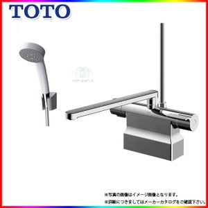 [TMGG46E] TOTO 浴室エコシャワー水栓 蛇口 サーモ付 台付きタイプ デッキタイプ スパウト300ミリ 芯々4サイズマルチ レビューを書いて送料無料|reform-peace