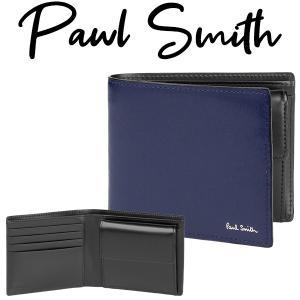 ポールスミス Paul Smith 財布 二つ折り財布 革製...