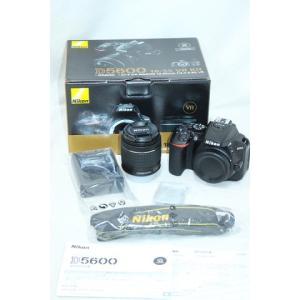 【美品/ショット数597枚】ニコン D5600 18-55 VR レンズキット 一眼レフカメラ