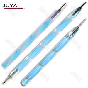 JUYA ペーパークイリングツール クイリングスロット セット (ブルー/ピンク)