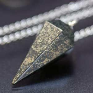 【天然石】パイライト・ペンデュラム|regalo-gemstone