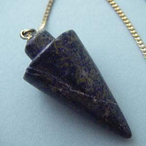 ラピスラズリ(瑠璃石)・ペンデュラム・ダウンジング【天然石】|regalo-gemstone