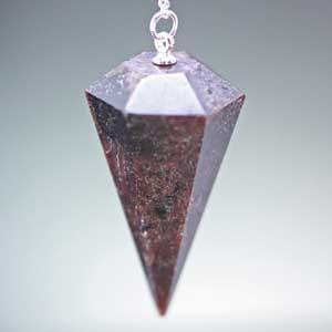 【一点物】ガーネット(石榴石)・ペンデュラム・ダウジング 天然石|regalo-gemstone
