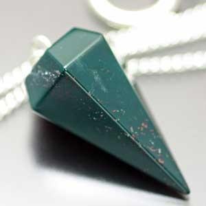 ブラッドストーン・ペンデュラム・ダウジング 天然石|regalo-gemstone
