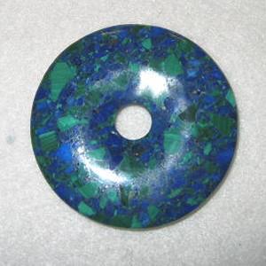 アズライトマラカイト・ドーナツ【天然石】 regalo-gemstone