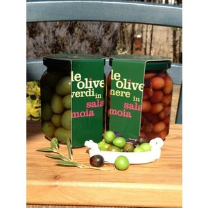オリーブ実  品種 グリーン ブラック