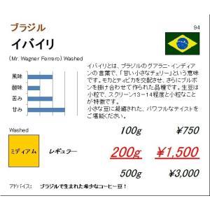 珈琲豆 送料無料 ブラジル イバイリ 500g|regalocoffee