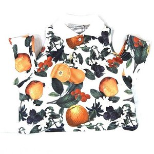 JOYRICH ジョイリッチ:Orange Blossom SHORT POLOSHIRTS オレンジブロッサムショートポロシャツ|reggie