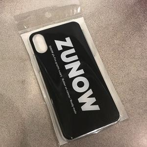 ZUNOW ズノウ ZUNOW LOGO iPhone7 iPhone8 iPhoneX アイフォンケース ロゴ プリント グラフィック|reggie