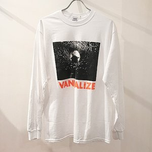 ZUNOW ズノウ  Vandalize long sleeve t-shirts ロンT 長袖 ユニセックス unisex メンズ レディース reggie
