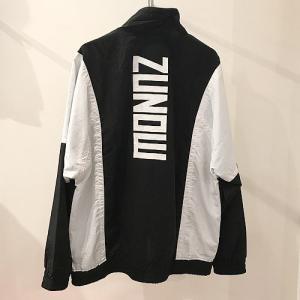 ZUNOW ズノウ 90s Track jacket  トラックジャケット ナイロンジャケット ユニセックス unisex メンズ レディース reggie