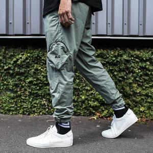 I LOVE UGLY アイラブアグリー  Utility Pants ジスピーパンツ サルエルパンツ ジョガーパンツ ナイロンパンツ カーゴパンツ 19020010|reggie
