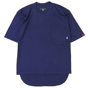 quolt クオルト MESH-LAYER CUTSEW メッシュレイヤードカットソー 半袖Tシャツ ラウンド フェイクレイヤード 901T-1290|reggie