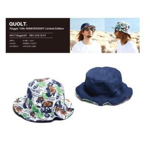 quolt(クオルト):Reggie 10th ANNIVERSARY Limited Edition  REVERSIBLE HAT(レジー10周年記念リバーシブルハット)|reggie