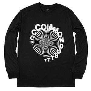 COMMON DUST コモンダスト SPIRAL L/S スパイラルTシャツ 長袖Tシャツ ロンT プリントT CD_LST013B メンズ 男性用 |reggie
