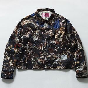 EFFECTEN(エフェクテン) Persian Pattern coach jacket ペルシャパターンコーチジャケット コーチジャケット メンズ レディース ユニセックス reggie