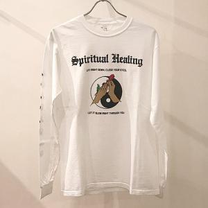 JUNGLES ジャングルス SPIRITUAL HEALING L/S TEE スピリチュアルヒーリング 長袖Tシャツ プリントTシャツ メンズ 男性用 reggie