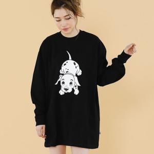 little sunny bite リトルサニーバイト  DISNEY ( 101 Dalmatians ) ★ LITTLE SUNNY BITE / print big long tee reggie