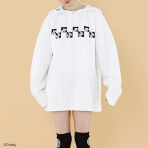 little sunny bite リトルサニーバイト DISNEY ディズニー ( 101 Dalmatians ) Stitched collar sweater ステッチカラースウェット|reggie