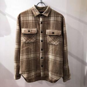 MODEM DESIGN(モデムデザイン):CPOシャツ ウール混 チェックシャツ|reggie