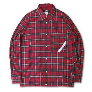 SAY! セイ:FLANNEL CHECK REFLECTOR SHIRTS フランネルチェックリフレクターシャツ|reggie