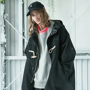 SAY セイ NEON RIB BIG SWEAT|reggie|02