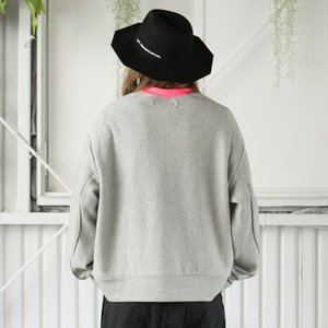 SAY セイ NEON RIB BIG SWEAT|reggie|03