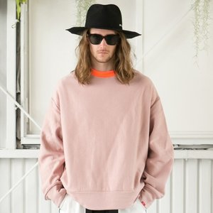 SAY セイ NEON RIB BIG SWEAT|reggie|04