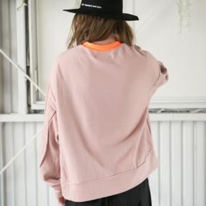 SAY セイ NEON RIB BIG SWEAT|reggie|05