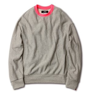 SAY セイ NEON RIB BIG SWEAT|reggie|06