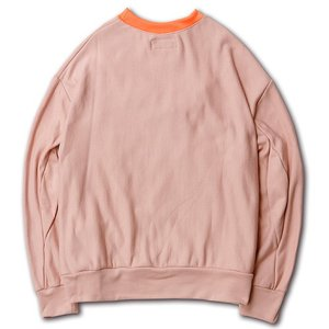 SAY セイ NEON RIB BIG SWEAT|reggie|09