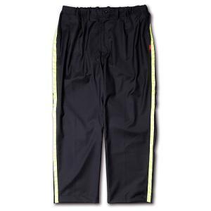 SAY!(セイ) NEON LINE WOOL SLEEPING PANTS ネオンラインスリーピングパンツ スラックス ラインパンツ ウールパンツ メンズ 男性用 ウーバーワールド|reggie