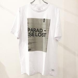 STAMPD スタンプド PARADISE LOST TEE パラダイスロストT ロゴ プリントTシャツ 半袖T メンズ 男性用 SLA-M1956TE reggie