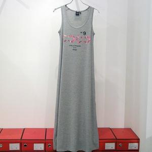 HOLLYWOOD MADE ハリウッドメイド:BIG ROSE COCO TANK DRESS ビッグローズココドレス|reggie