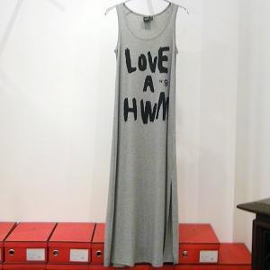 HOLLYWOOD MADE ハリウッドメイド:LOVE ROGO DRESS ラブロゴドレス|reggie