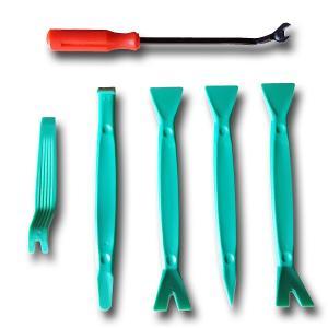 内張り剥がしセット パネルはがし 6点セット 車用 工具