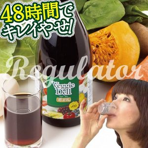 【アウトレット/数量限定】(話題の酵素液/酵素飲料)Veggie Dell ベジーデル酵素液 720...