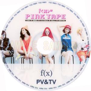 【韓流DVD】f(x) エフエックス PINK TAPE PV & TV COLLECTION★K-POP MUSIC rehobote