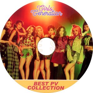 【韓流DVD】少女時代 GIRL'S GENERATION [ BEST PV Collection ] ★SNSD