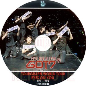 【韓流DVD】 GOT7 【 2018 WORLD TOUR TOURGRAPH 】(EP1-EP4) (日本語字幕)★ガットセブ|rehobote