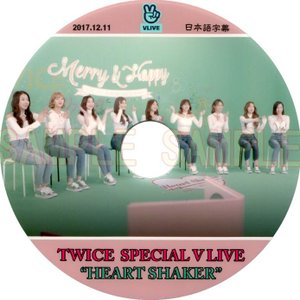 【韓流DVD】TWICE 「 Heart Shaker 」S...