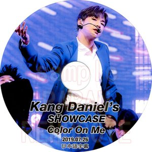【韓流DVD】Wanna One カンダニエル [ DANIEL SHOWCASE COLOR ON ME ] (2019.07.26) 日本語字幕★ワノワンKANG DANIEL|rehobote