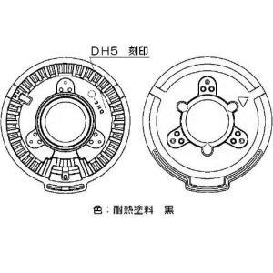 リンナイ ガステーブル専用部品 バーナーキャップ H 151-220-000|rehomestore|02